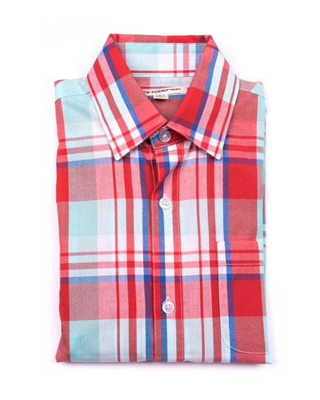 The Standard Plaid Shirt, Size 2-14