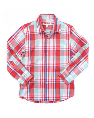 The Standard Plaid Shirt, Size 2-14