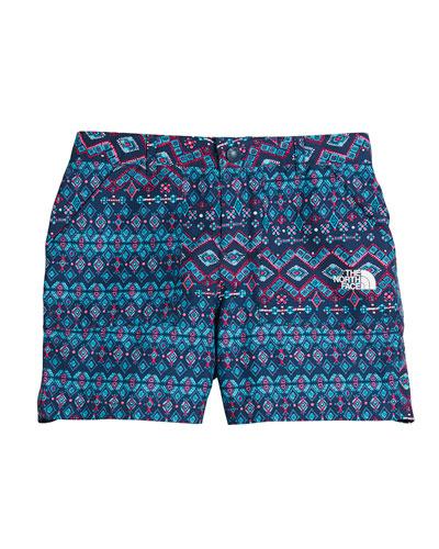 Amphibious Ikat Shorts, Size XXS-XL