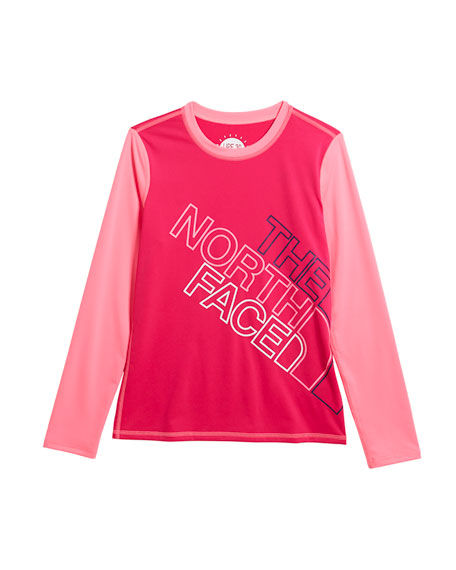 The North Face Amphibious Long-Sleeve Logo Tee, Size