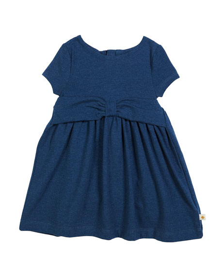 kammy heathered jersey bow dress, size 2-6x