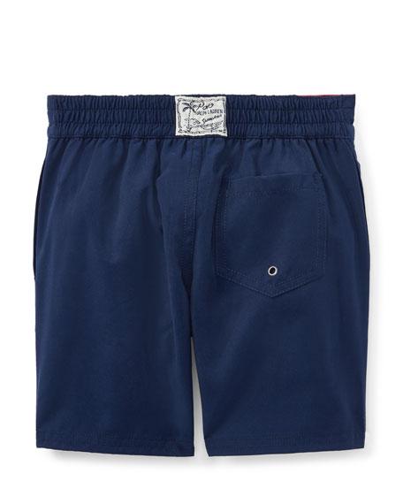 Sanibel Solid Board Shorts, Size 5-7