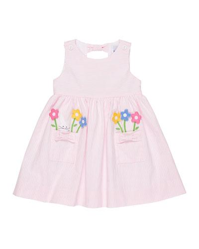 Where is the Bunny Striped Seersucker Dress, Size 2-4