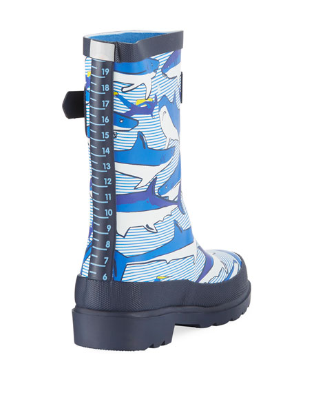 Shark Rubber Rain Boot, Toddler/Kid