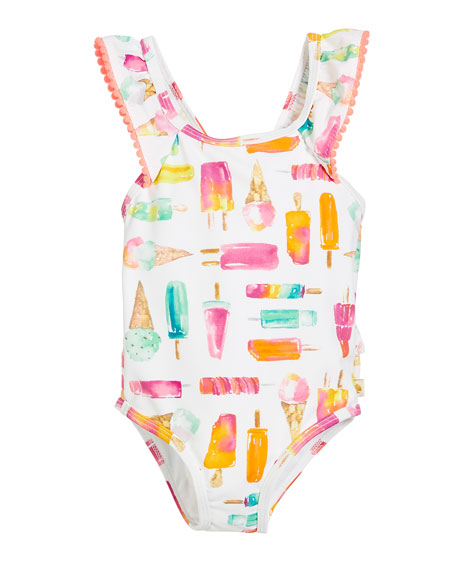 f8938fcd17 kate spade new york ice pops one-piece swimsuit, size 12-24 months