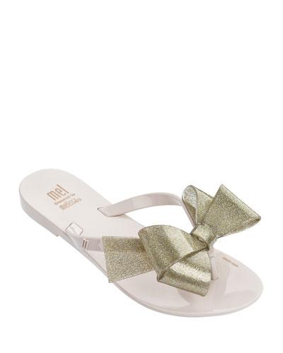 Mel Harmonic Bow Thong Sandal, Kids