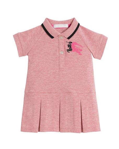 Mini Molly Anna Logo Polo Dress, Size 6M-3
