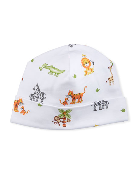 Kissy Kissy Jolly Jungle Pima Baby Hat