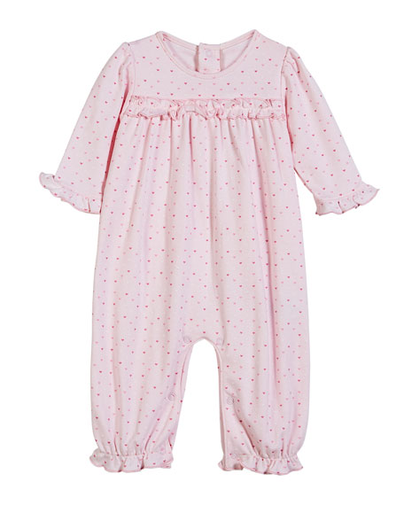 Kissy Kissy Parisian Stroll Printed Heart Coverall, Size