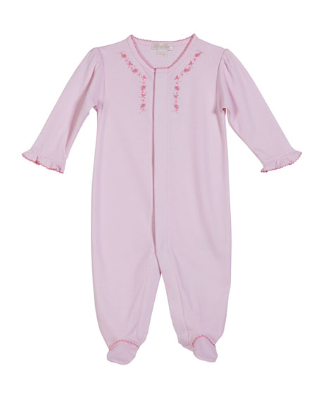 Kissy Kissy Rosebud Ribbons Footie Playsuit, Size Newborn-9
