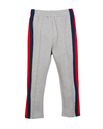 Web-Trim Jogger Pants, Size 4-12