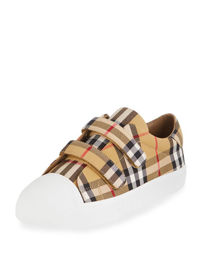 Belside Vintage Check Canvas Sneakers, Toddler/Kids
