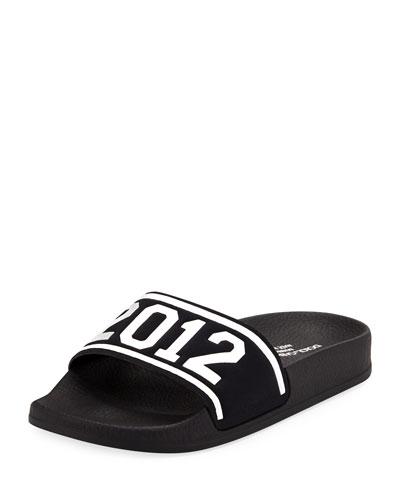 Chiabatta D&G 2012 Pool Slide Sandals, Toddler