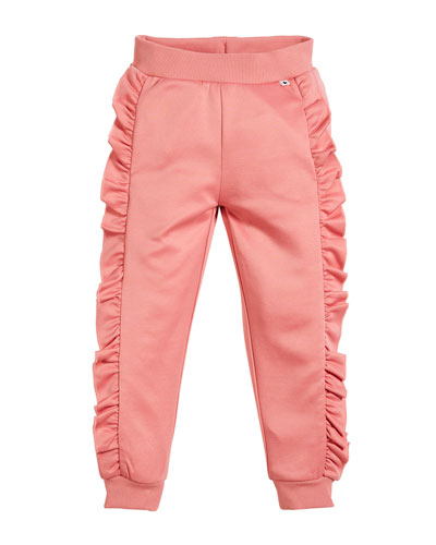Aline Frill Sweatpants, Size 3-12