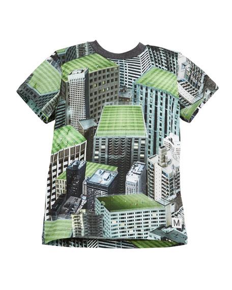 Molo Raymont Rooftop Fields T-Shirt, Size 4-12