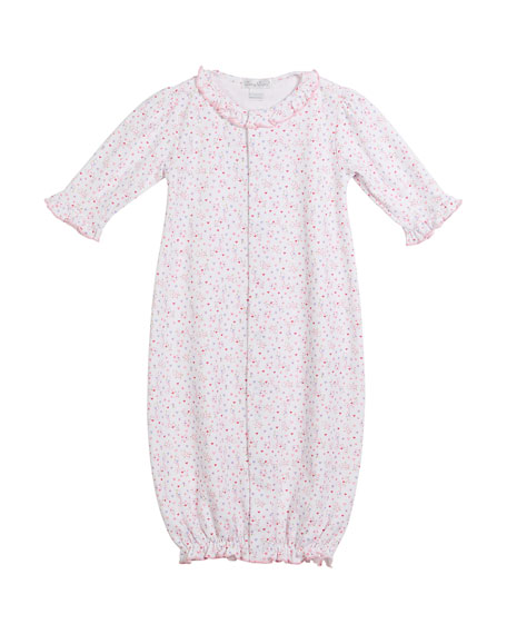 Queen of the Castle Convertible Pima Gown, Size Newborn-S