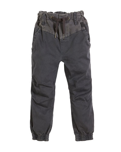 Arctic Drawstring Woven Pants, Size 4-12