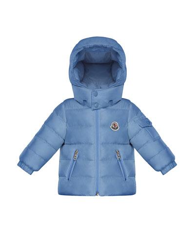 Jules Puffer Jacket w/ Hood, Size 12M-3T