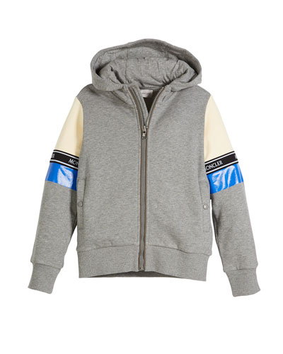 Completo Colorblock Jacket & Joggers Set, Light Gray, Size 8-14