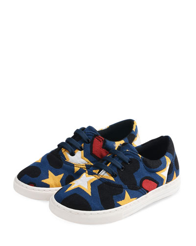 Stars & Hearts Low-Top Sneakers, Toddler/Kids