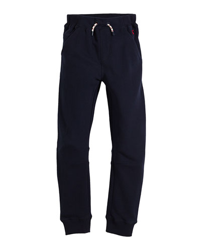 Sid Cotton-Blend Sweatpants, Size 2-6