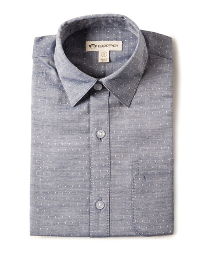 Standard Squares Long-Sleeve Shirt, Size 2-10