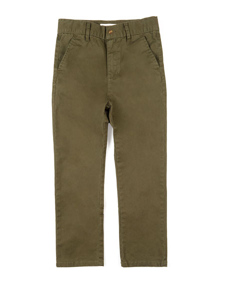 Bushwick Straight-Leg Pants, Size 2-10