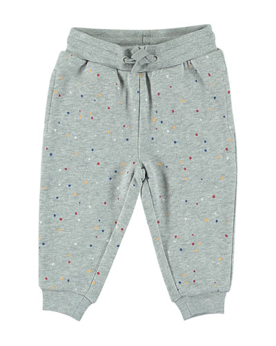 Paint Splatter Sweatpants, Size 6-36 Months