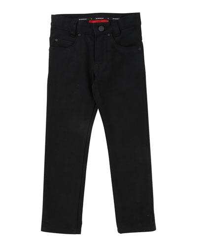 5169bd723 Denim Pants w/ Back Leatherette Pocket Size 12-14 Quick Look. Givenchy