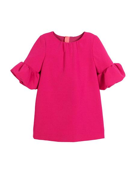 Mandy Italian Cady Dress, Size 4-7