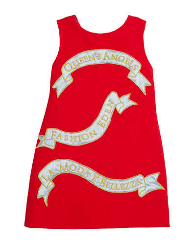 Queen's Angels Sleeveless Dress, Size 4-6