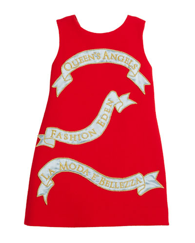 Queen's Angels Sleeveless Dress, Size 8-12