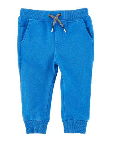 Soft Fleece Jog Pants, Size 6-36 Months