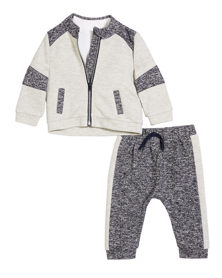 Miniclasix Contrasting 3-Piece Layette Outfit Set, Size 3-24