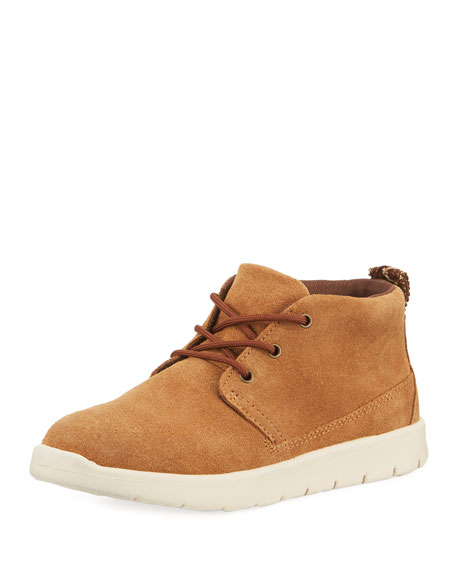 UGG Girls' Suede Canoe Boots, Kids