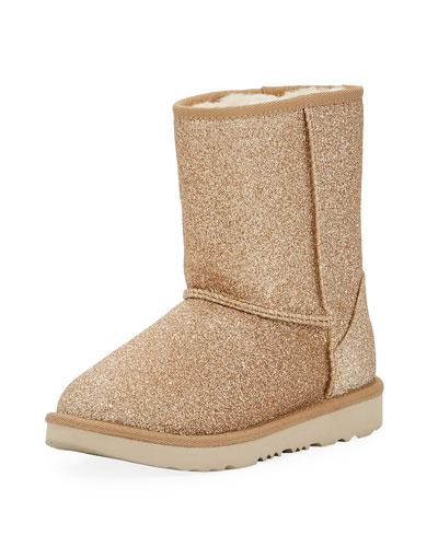 Classic Short II Glitter Boot, Toddler