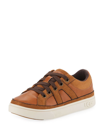b46144452b5 Marcus Faux-Leather & Suede Sneakers, Kids