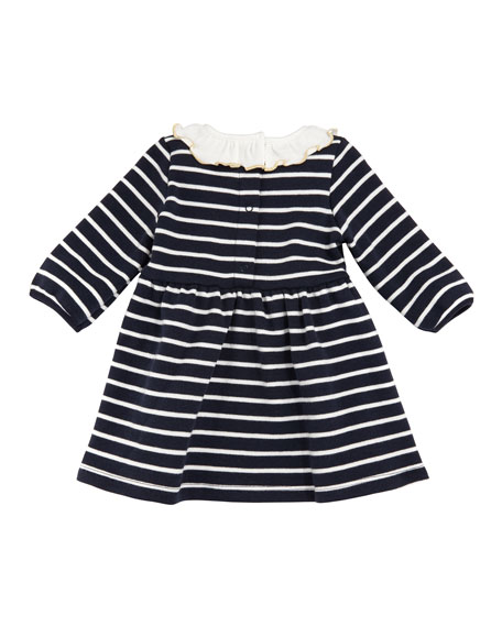 3-6 Months Striped Baby K Cotton Dress Baby Girls Clothes