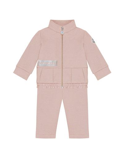 Zip-Up Jacket w/ Matching Sweatpants, Size 6M-3