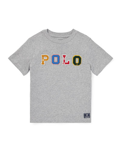 Novelty Logo T-Shirt, Size 2-4