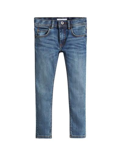 Skinny Denim Jeans, Size 4-14
