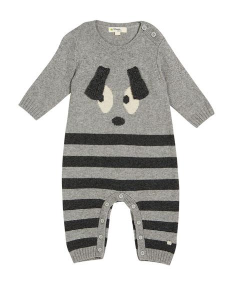 bonniemob Roxy Bunny Intarsia Coverall, Size 0-18 Months