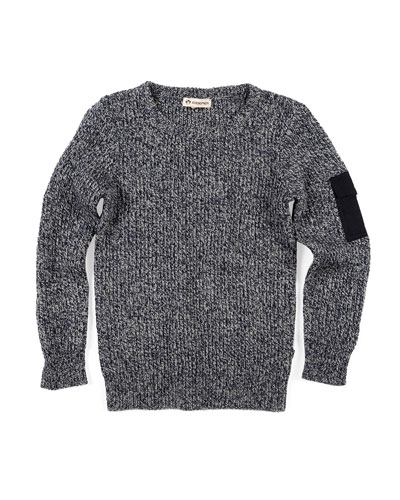 Rouge Melange Knit Sweater  Size 2-10