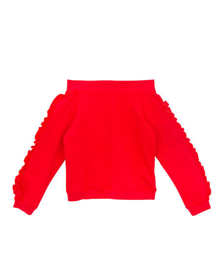 Karina Knit Off-The-Shoulder Top, Size S-Xl, Red