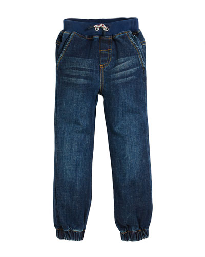Ezra Straight-Leg Denim Jeans, Size 2-6