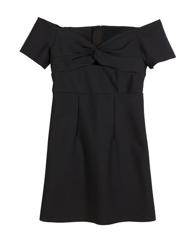 Vanessa Sweetheart Off-the-Shoulder Dress, Size 8-16