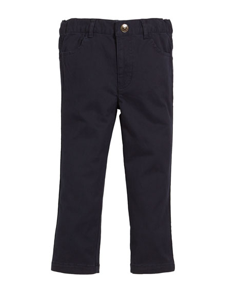 FORE Brushed Twill Pants, Size 2-8 in Blue