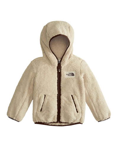 Campshire Hooded Sherpa Fleece Jacket, Size 2-4T