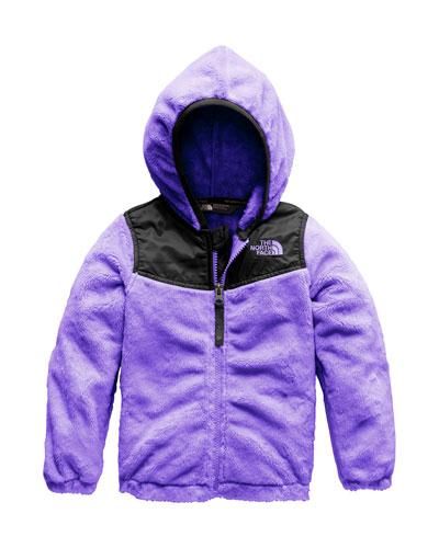 Oso Fleece Hooded Jacket, Size 2-4T