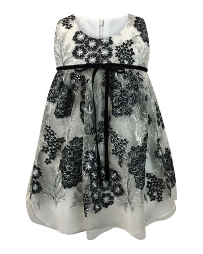 Sleeveless Lace Dress, Size 7-14